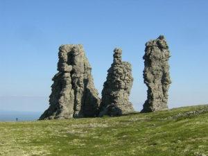 Manpupuner rock formation