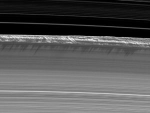 Saturns equinox rings ice wall B