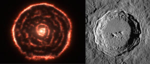 spirals hexagon craters