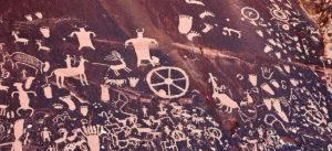 Capitol Reef National Park petroglyphs