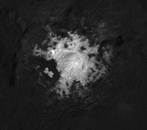 Cerealia Facula Occator Crater Ceres