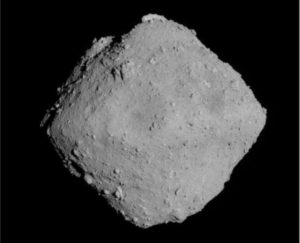 asteroids comets surface material