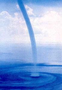 fibonacci numbers water tornado spirals