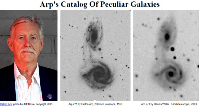 Halton C Arp Atlas of Peculiar Galaxies