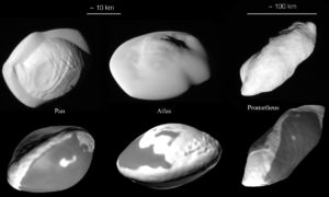 solar system moons Ultima Thule Moqui marbles
