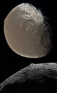 Iapetus moon Moqui marbles Ultima Thule