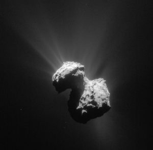 comets asteroids electrochemical power