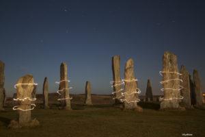 megalithic standing stone circles mythology
