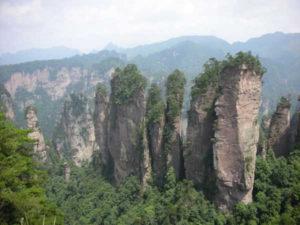 Maczuga Herkulesa Manpupuner Zhangjiajie National Forest Park