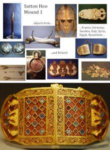 Sutton Hoo treasures chronology