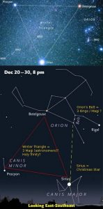 Holy Trinity Orion Belt Star