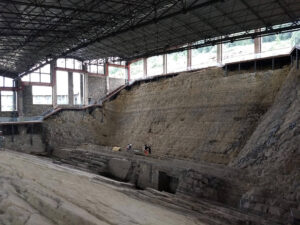 instant fossilisation sea water china