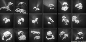 Comet 67P jets sublimation mechanism mechanic water puzzles