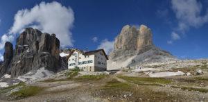 Italy's Dolomite Alps and strata