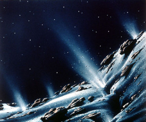 active asteroid pluto comet