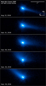 asteroids are comets evidence