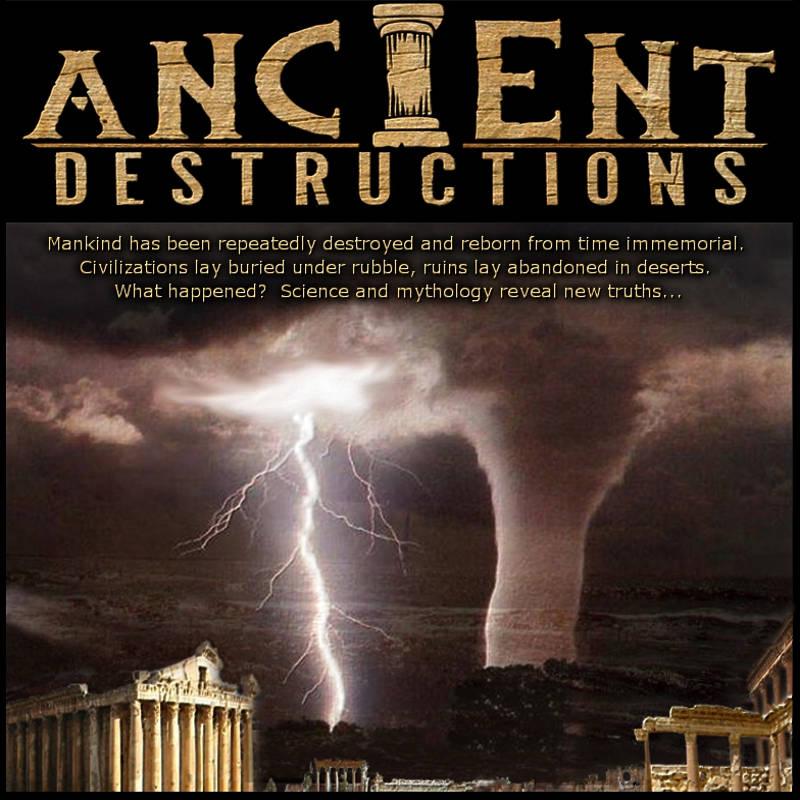 Ancient Destructions videos peter mungo jupp catastrophe