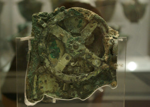 ancient mythology evidence Advanced technology Antikythera mechanism