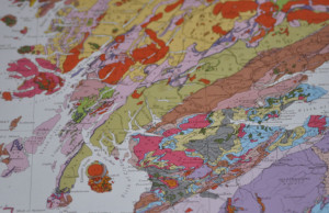 Isle of Arran geology geological rock types maps