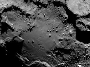 asteroid comet 67p boulders-surface