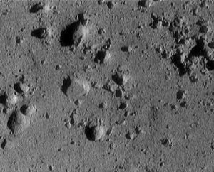 asteroid eros boulders surface rocks
