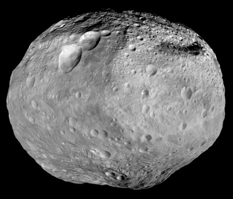 asteroid vesta mountain everest taller