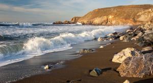 brown coloured beaches sandy where location