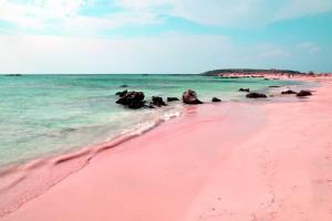 coloured beaches sandy where