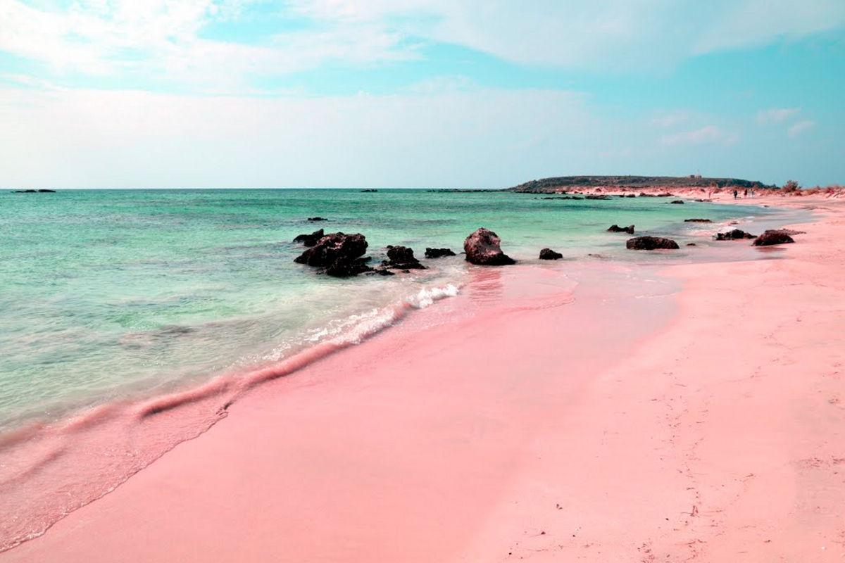 Coloured Sandy Beaches Where What Why When Pink Sand Beach Florida Keys