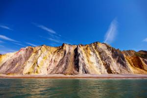 rainbow beaches coloured sand why where how