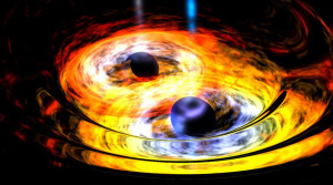 black hole electromagnetic waves frequencies amplitude