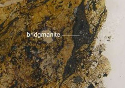 bridgmanite mineral earth