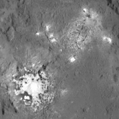 Ceres bright spots Occator crater