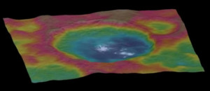 Ceres bright spots Occator crater geomorphology