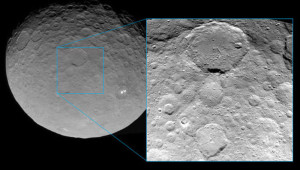 ceres surface geology craters