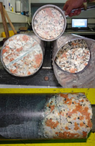 granite transformed transmutation Chicxulub crater