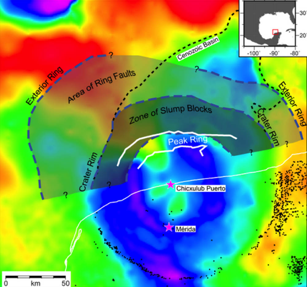 Chicxulub crater peak ring surprises