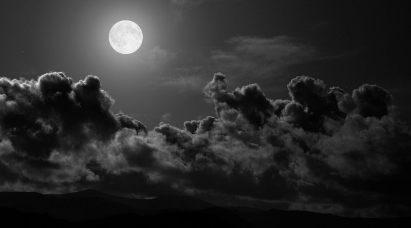Are clouds the same at night as during the day time