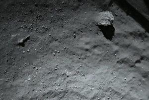 comet 67p dust dirt surface