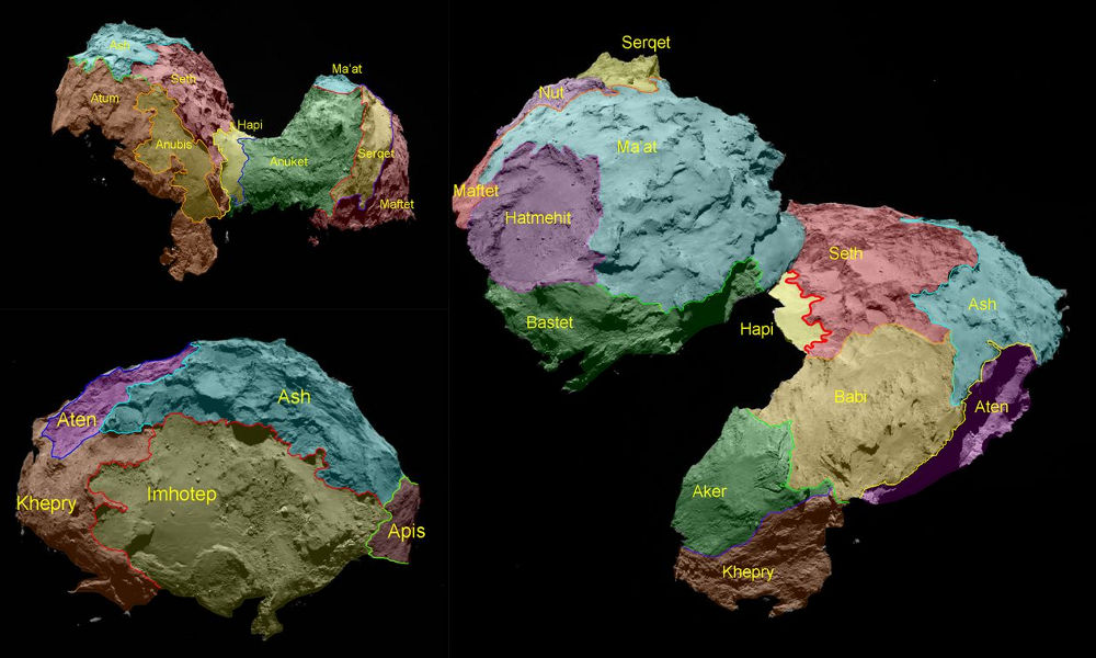 comet 67p geology morphology electric universe evidence