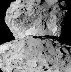 comet 67p hollow theory