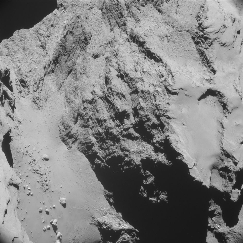 comet 67p jets fissures cracks where are they