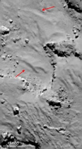 comet dunes Aeolian ripples 67p electric universe theory