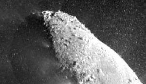 comet hartley 2 rock surface