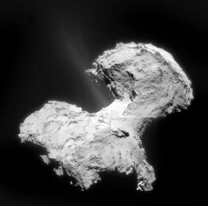 comet jets water source 67p