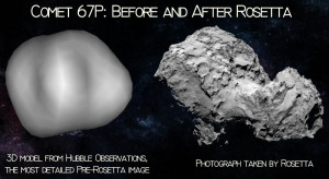 comets look like surface predictions 67p rosetta