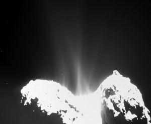 comets coma molecules