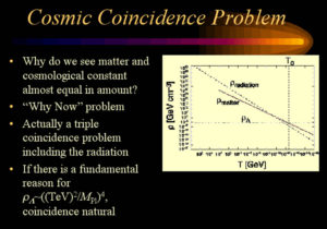 cosmic coincidence problem