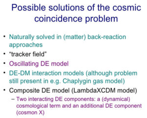 cosmic coincidence problem fine tuning