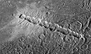 crater chains pits mars moon pluto mercury earth
